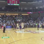 The floodgates open... FINAL @CofCBasketball 70 LSU 58 @ABCNews4 https://t.co/4xWQLBjkI4