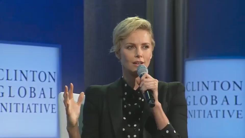 """Together, we can actually be the generation that stops AIDS."" - @CharlizeAfrica #WorldAIDSDay https://t.co/JixfeoqAbr"