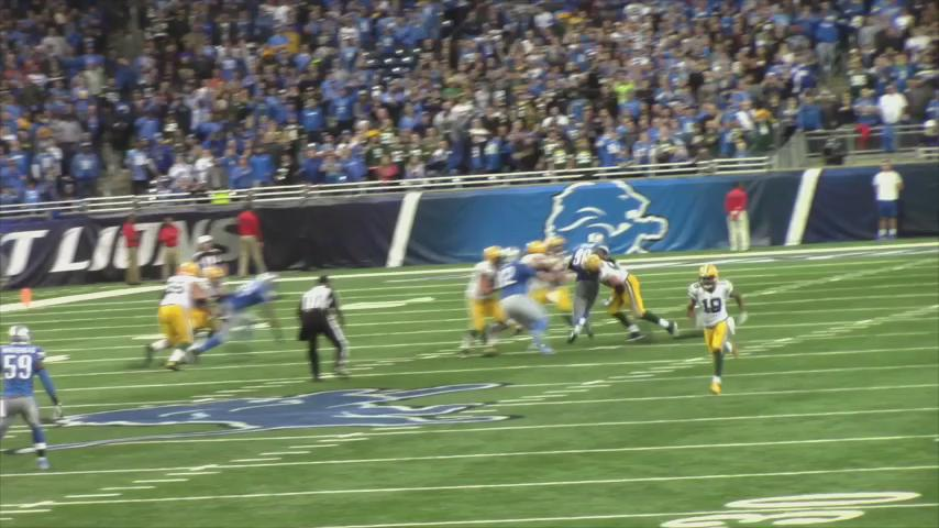 Anyone still in shock after that miracle W by the @packers?? Enjoy this @Lions super fans VID! (via @im_very_future) https://t.co/jDLCKxMTyg