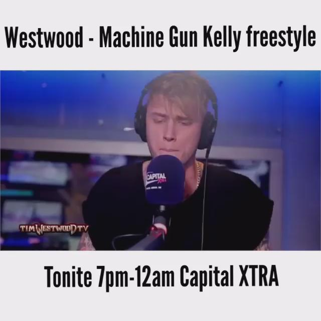 Tonite 7pm-12am @capitalxtra crazy freestyle from @machinegunkelly