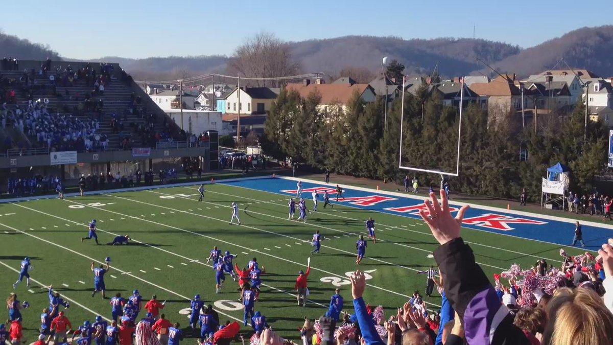 Wheeling Park wins Class AAA state championship, 23-15 https://t.co/VxV3FuaTLL