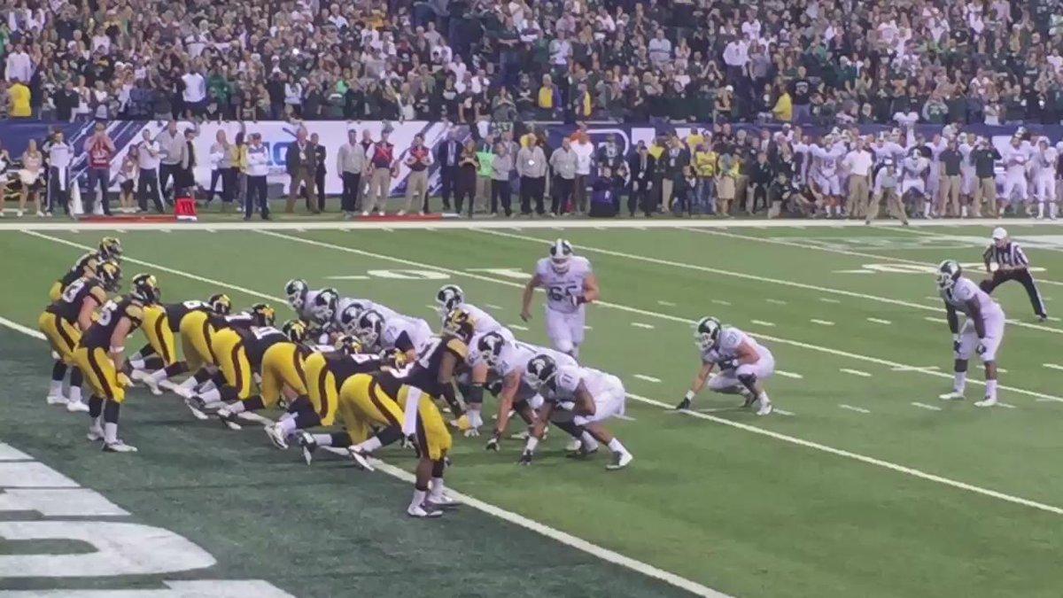 Touchdown MSU! #V4MSU https://t.co/BLru9SHNDQ