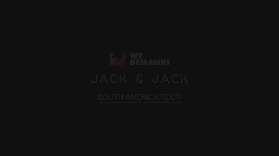 Olha ai um teaser do que vem ai no vídeo da turnê do @JackAndJackReal na America do Sul #WeDemandJackAndJack https://t.co/IHvv6Cgv7S
