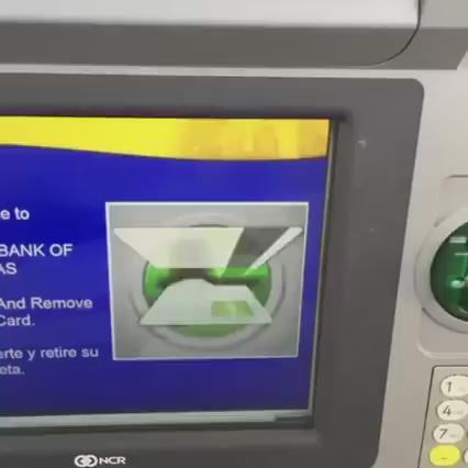 How to use NCR ATM https://t.co/DDUms26H4u