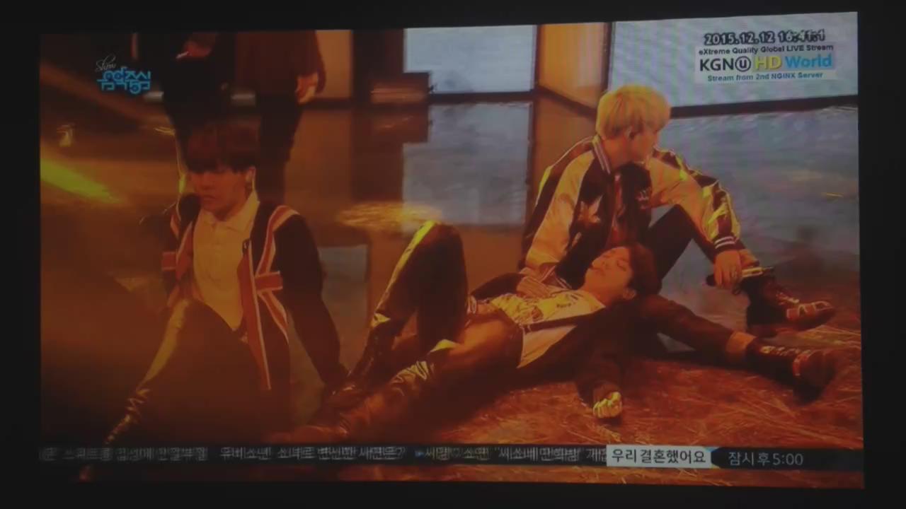 BTS is now on MBC Music Core live @BTS_twt https://t.co/zSKGHgyCd5
