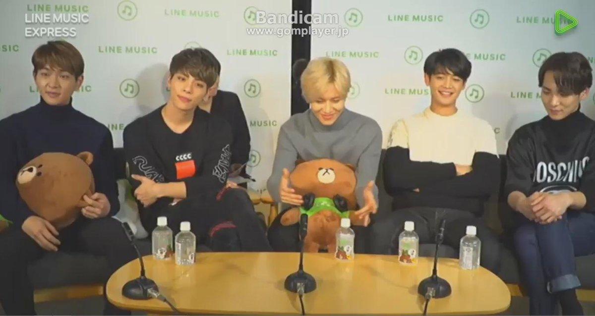 151214 Jongyu @ Line Music Express Live おにゅたんだけだと思ったらみのくんの誕生日のお祝いもあったと知ったひょにゅw https://t.co/27TfYUkPHe