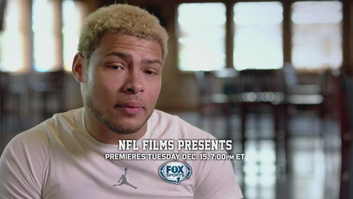 "#NFLFilms Presents - ""Born & Bred: The Tyrann Mathieu Story"" airs Tues 12/15 at 7pm/ET on @FS1. @Mathieu_Era https://t.co/j9bEhrJXVi"