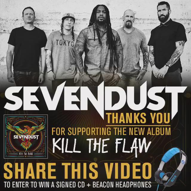 CONTEST: RT this video to enter to win a signed copy of #KillTheFlaw & @BeaconAudio headphones! https://t.co/dm9msOP3jS