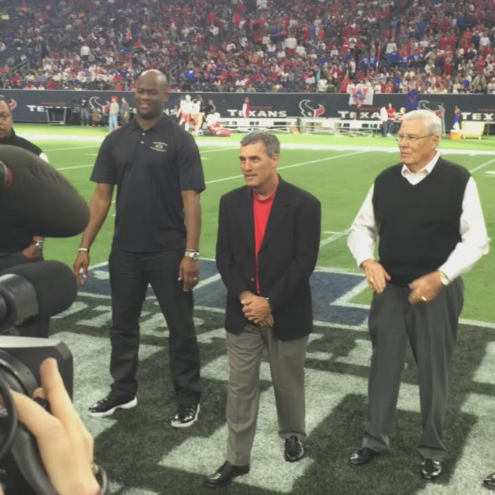 Texas HS sports hall of fame inductees. @Katyfootball Gary Joseph #kprc2 #txhsfb #UILState https://t.co/XUwY9DQZhx