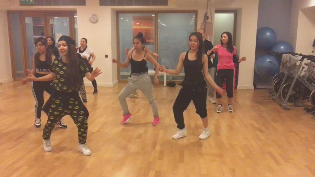 Here are the @4thImpactMusic girls doing their thing in one of our @diversedancemix classes! #Champneys https://t.co/YfSKuLIMSs