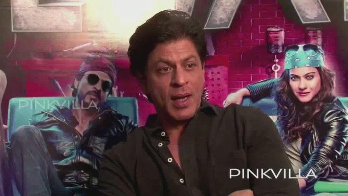 Shah Rukh Khan wishing Salman Khan a very happy birthday