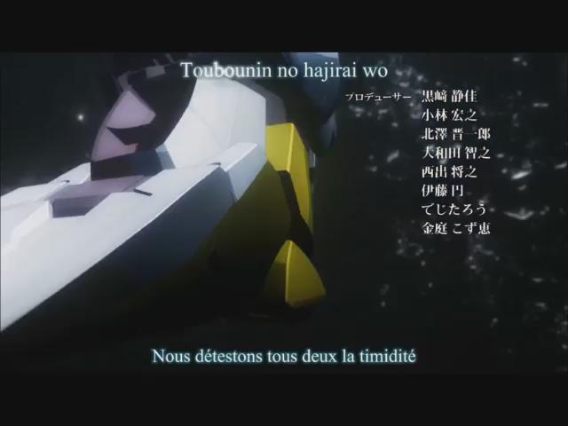 アルドノア・ゼロ(A-1 Pictures + TROYCA)「&Z」(作詞:澤野弘之・mpi/作曲:澤野弘之/