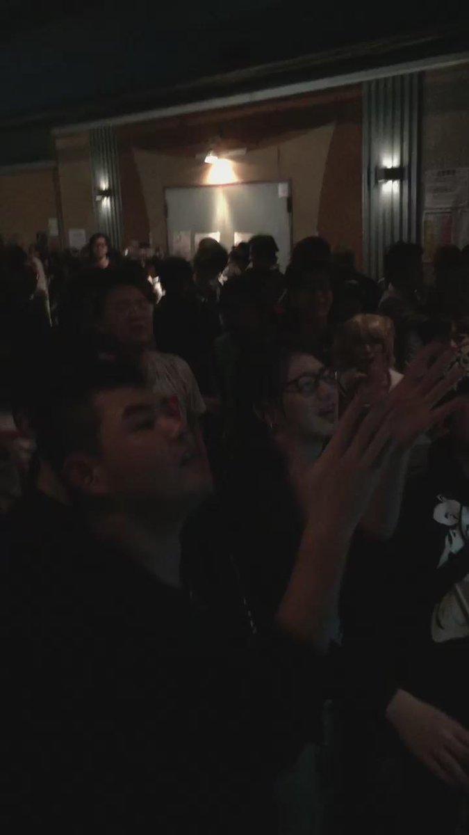 DJ EVANGELION伝説のギグだった。最高だった。 #冬の宴 https://t.co/vkqsdtRidn