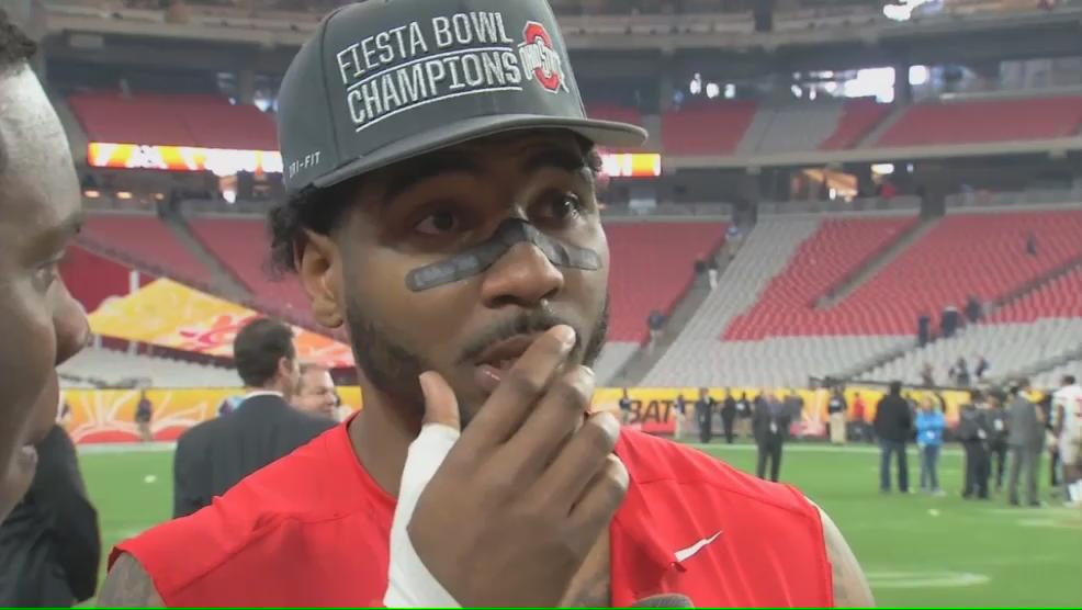 VIDEO: @BraxtonMiller5's emotional farewell to his #OhioState career, only on @TheFeverABC6 https://t.co/9w6zxV8chc https://t.co/LeEDwCswvt