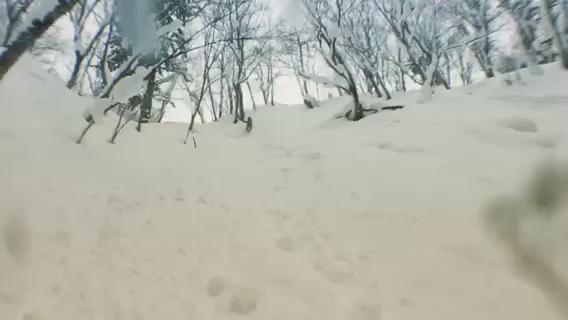 北海道のRide snowboards teamで撮影、僕は今日はカメラマンに徹しました、本編撮影後ケータイでオフショット撮影、ドン深パウダーでした https://t.co/VXnec9O1Z1