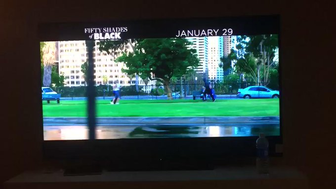 Yay ah so excited to see this! Starring @KingBach So damn talented &the sweetest of souls☺️☺️❤️ #FiftyShadesOfBlack