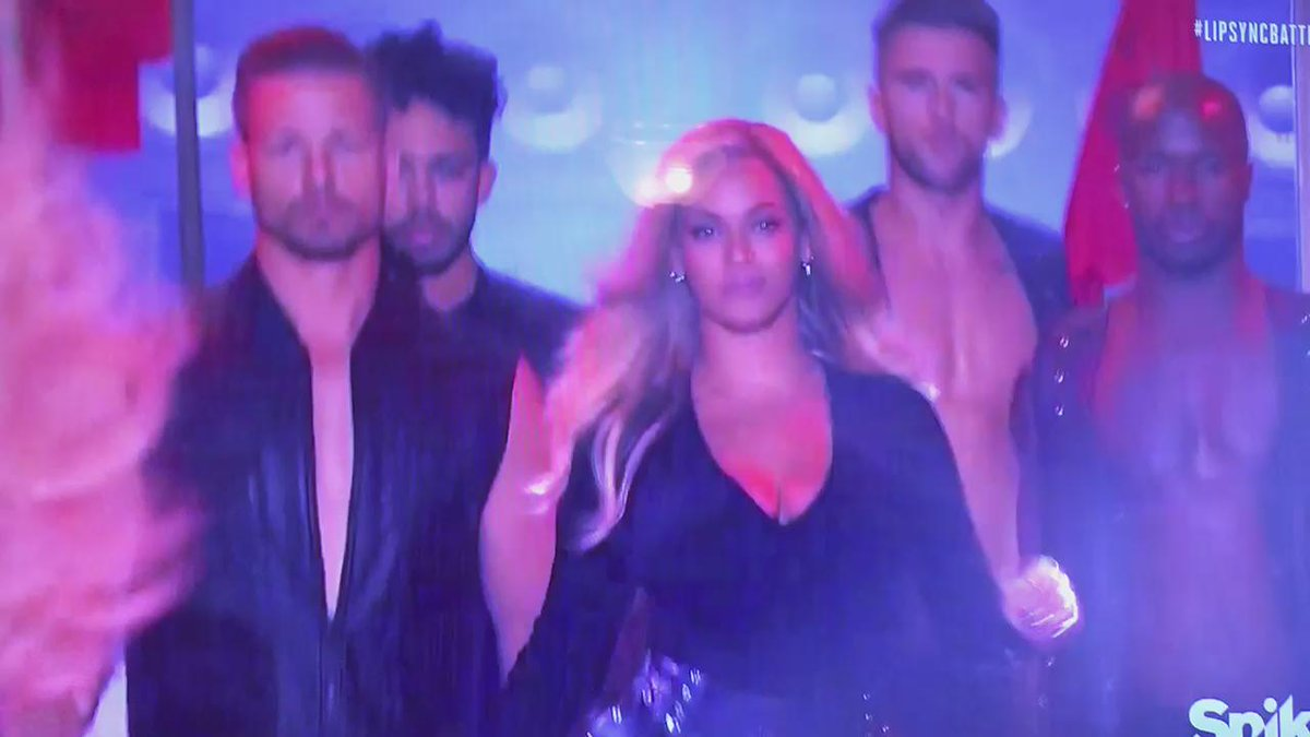 NOTHING is better evidence of @channingtatum's clout/cred than this right here. #Beyoncé #LipSyncBattle https://t.co/wqGLraWXAI