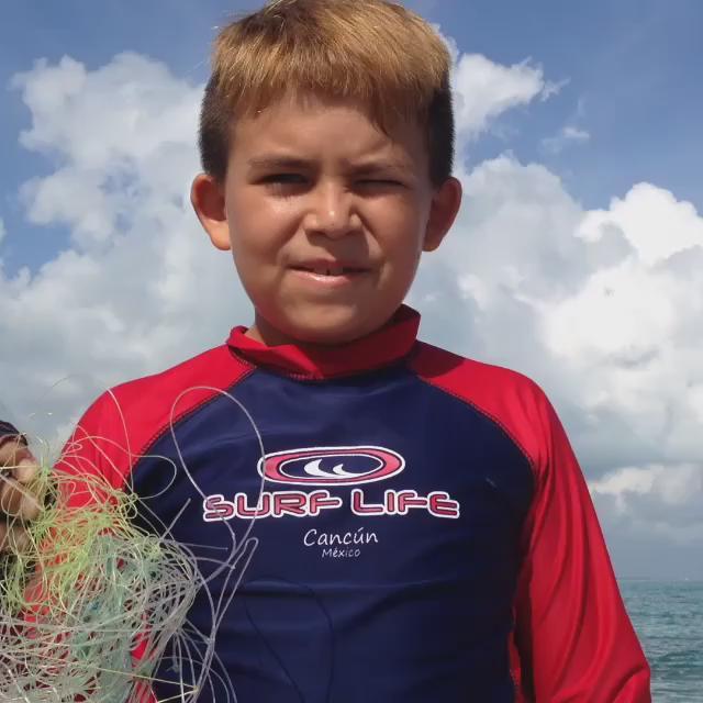 Max tiene algunas palabras para los pescadores irresponsables :D #medioambiente @VivoEnCancun https://t.co/nqjiWzMwH2