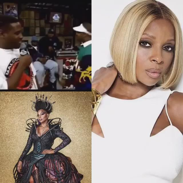 She\s the and today she turns 45! Happy Birthday to the one & only Mary J. Blige!