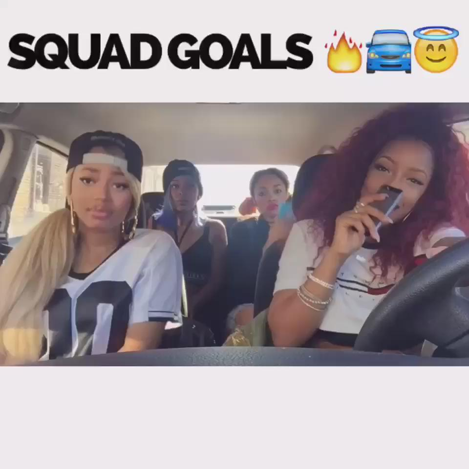 Whole crew LIT ! #rt #rollwitagoodgirl #squadgoals https://t.co/w454uDI1Fo