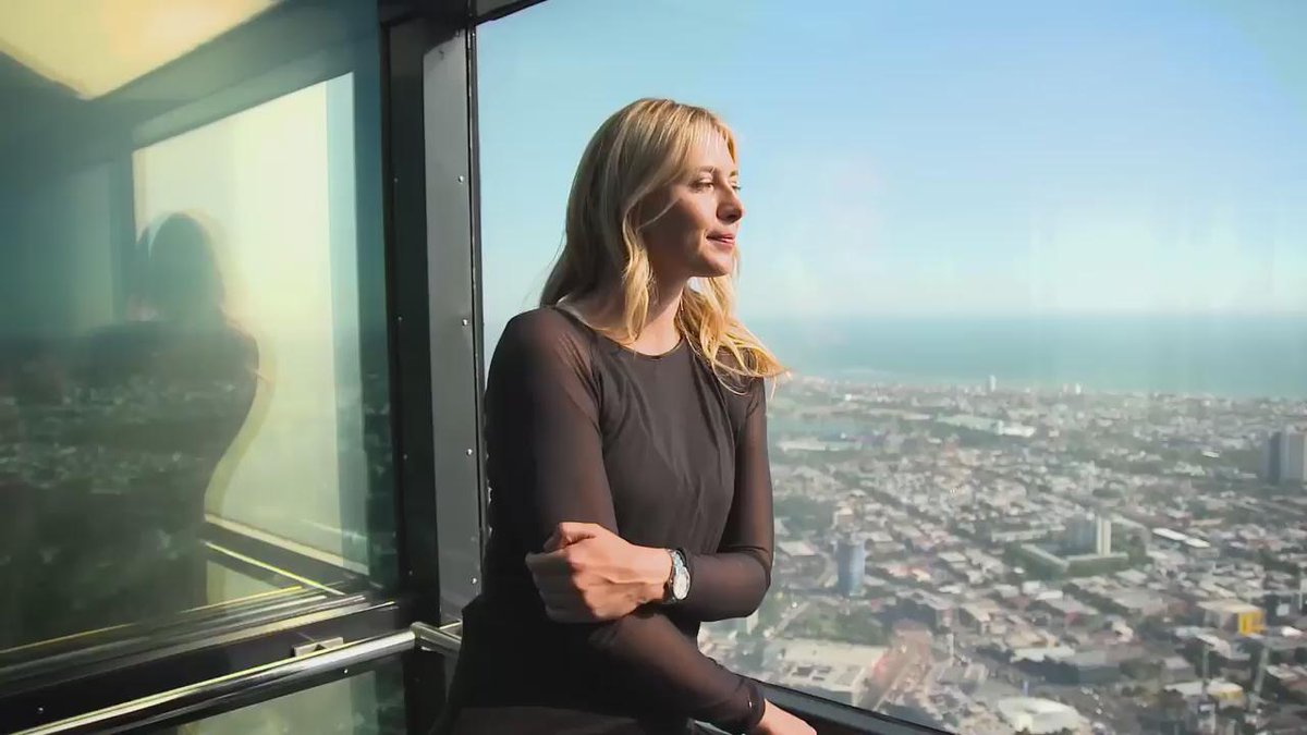 RT @porsche_woman: Thank you @MariaSharapova for such a candid interview at @Eureka_Skydeck! Full story https://t.co/WYH6nocIOT https://t.c…