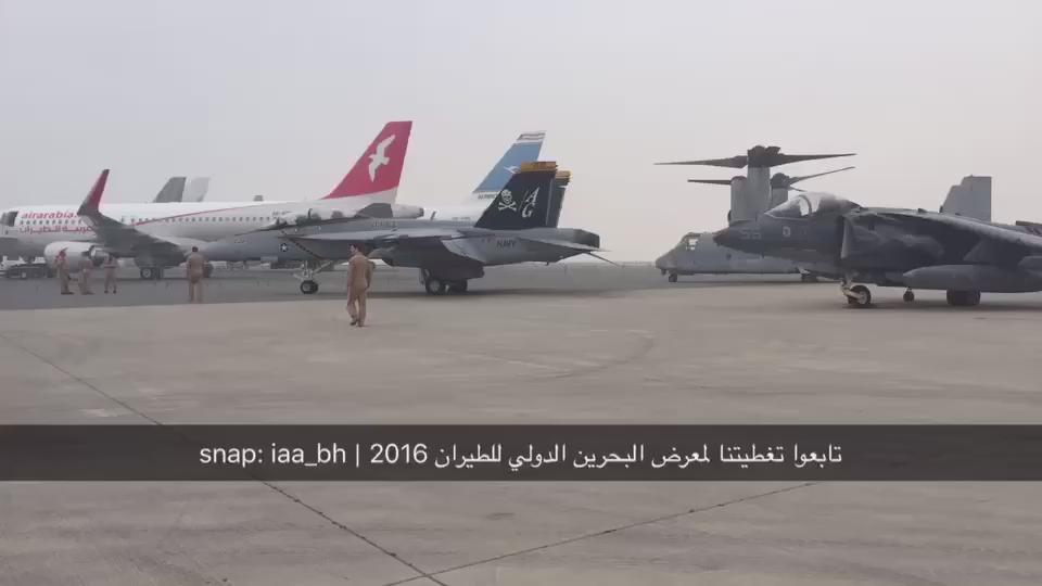 تابعوا تغطيتنا لـ #معرض_البحرين_الدولي_للطيران عبر حساب وزارة شؤون الإعلام في تطبيق سناب جات : iaa_bh https://t.co/TgxyvHIzjK
