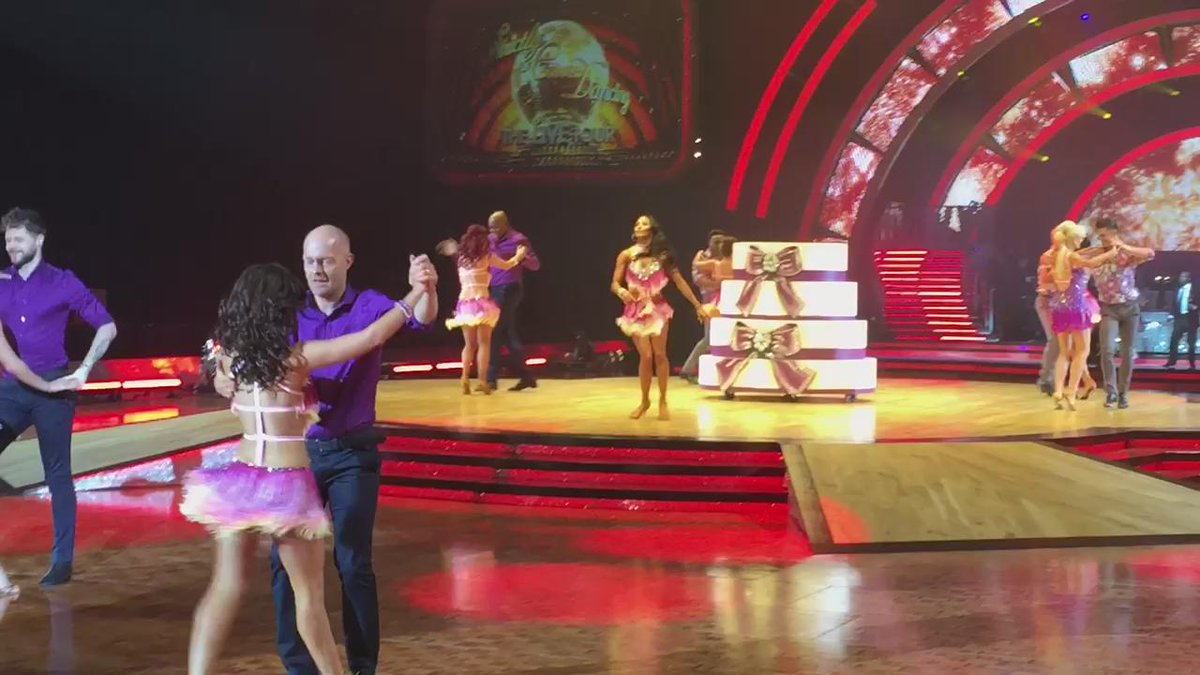 More #strictlytour #spoiler @JayMcGuiness @AlionaVilani @mrjakedwood @JManrara @SCD_Live_Tour https://t.co/b4Lxvq7mZV