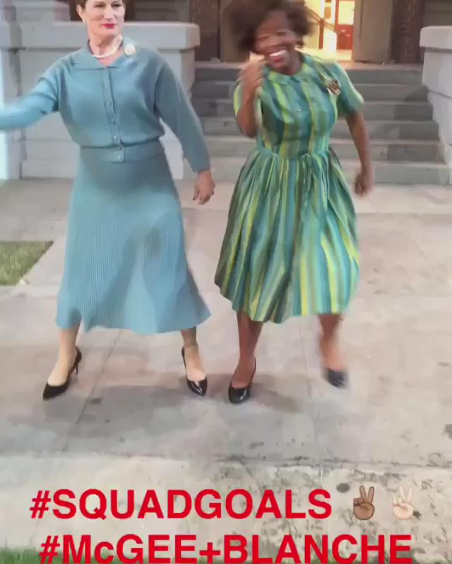 Rydell is gettin TURNT. Tonite!! #BFFgoals #mcgeeandblanche #squadgoals #athleticsupporter @gogrease #greaselive https://t.co/gL6zlzmEXA
