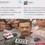 .@ArvindKejriwal Why are u not paying salaries to poor MCD&Cab serv employees wen you have the money? #KejriwalCares https://t.co/XCdsVxK45p