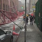 #BREAKING video of TriBeCa #cranecollapse on 40 Worth St. #pix11news @breaking911 https://t.co/ETuQQeAM9d