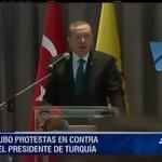 فضيحة #أردوغان في الاكوادور الحضور يصفونه بالقاتل  مشهد لن تراه على الجزيرة وإعلام الاخوان https://t.co/aGZ8gq3MkR