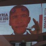 У центрі Москви показали відео з Обамою у вигляді диявола: https://t.co/Pd1QZdyYLh https://t.co/IO8TrlFA2a