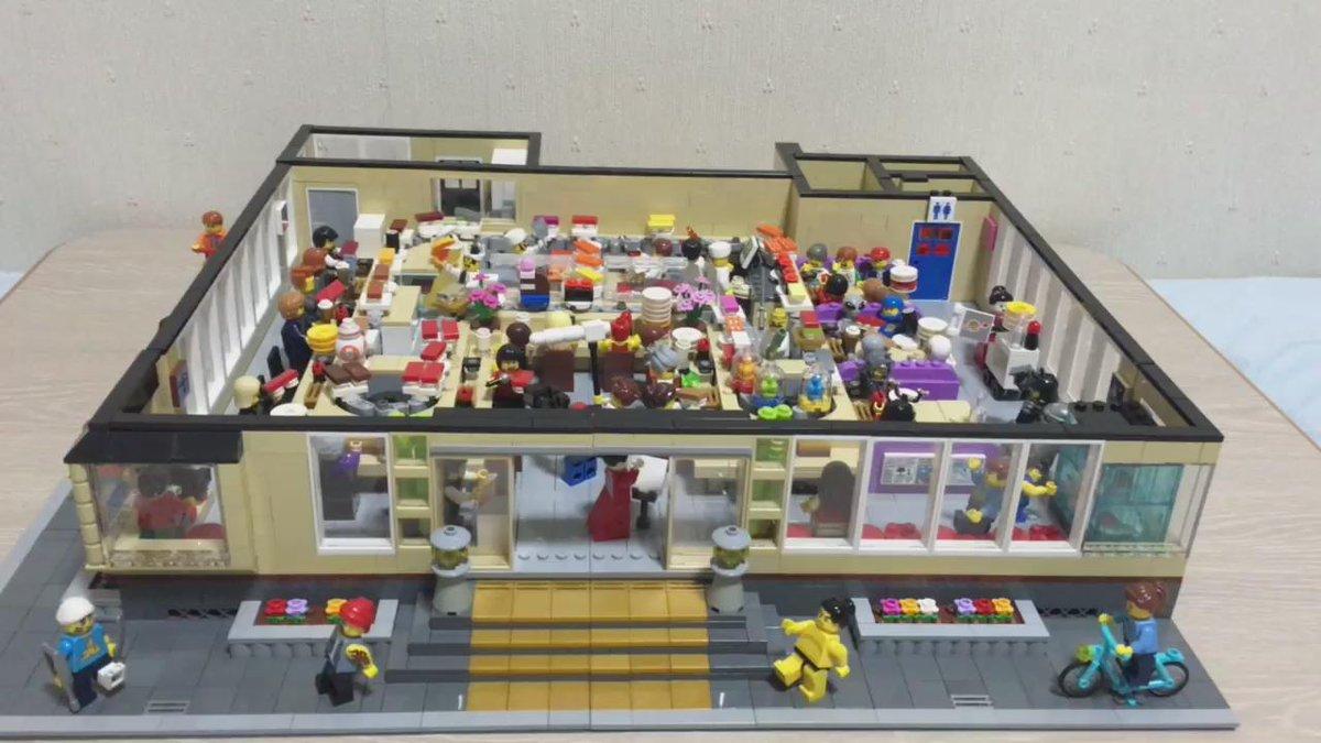 レゴで動く回転寿司屋を作りました。 - ドクターペイさんのレゴ研究手帳 - Yahoo!ブログ  #レゴ回転寿司 #wf