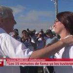 El soberbio del presidente Vázquez se ríe de la gente ante sus reclamos ¿Gobierno de primera? Irrespetuoso. https://t.co/MiRmkWbcFK