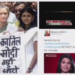 ".@nanditadas, how does it feel like to be a part of ""क़ातिल (Murderer)"" Modis pet project #BetiBachaoBetiPadhao ? https://t.co/GeEsArt4EF"