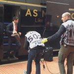 Arrivée des joueurs Rouge et Blanc ! #ASMOGCN ???????? https://t.co/0HpZMgJXJe