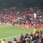 Black flags on the Kop today..... #LFC https://t.co/zD2yP3L4EZ