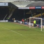 Trouble between Southend and Colchester fans today... (@EllisCole)  https://t.co/H0cQPW2RdL