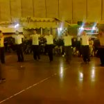 Palestinian prisoners inside the Zionist occupation Naqab desert military jail dancing Palestinian Dabka. https://t.co/xf6x1eP95j