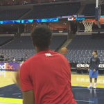 . @mchalmers15 is ready for #MEMvDAL. 7pm/ct tip. See you soon! #RioForTrio https://t.co/j4A2KWE3Oe
