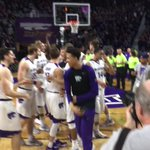 Bramlage was LIVE tonight, and the result was a @KStateMBB Win! A classy celebration followed a classic game. #???????????????????? https://t.co/PJfkqXQxNZ