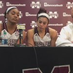 VIDEO | @VictoriaVivians talks on adapting her game to focus on defense today. #HailState https://t.co/clLD0eJBo5