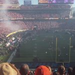 Its game time! @Broncos are on the field. #UnitedInOrange #SB50 https://t.co/iaF2f4qvUP