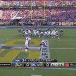 Aquí el gol de campo de McNaus para el @Panthers 0-3 @Broncos #SuperBowl https://t.co/mLxBvIZTLz