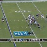 Así fue el TouchDown de @Broncos tras la pérdida de balón de #CamNewton https://t.co/Atq6xbvEau