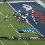 #SuperBowl Así voló Stewart para acercar a los @Panthers (7-10) https://t.co/QM85uLlaAI