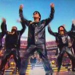 Bruno Mars actúa en el Levi´s Stadium. https://t.co/D29Sp8n9Su