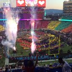 From concert venue to football game in about 4 minuets! #SuperBowl https://t.co/RglwJuGeTz