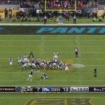 #SuperBowl: Graham le pegó al poste y @Panthers pierde 3 valiosos puntos. https://t.co/RiiAe9yADf