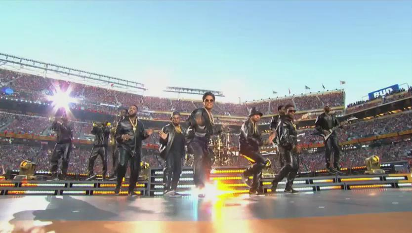 From the garage to the grand stage performing with some legends. Our very own SB, following the dream! #SB50 https://t.co/pgDRLkObHT